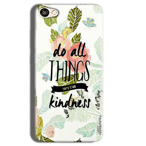 Vivo Y55L Mobile Covers Cases Do all things with kindness - Lowest Price - Paybydaddy.com