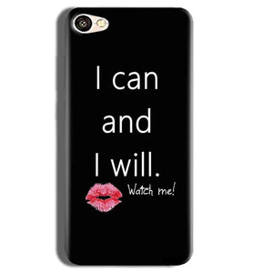 Vivo Y55L Mobile Covers Cases i can and i will Lips - Lowest Price - Paybydaddy.com