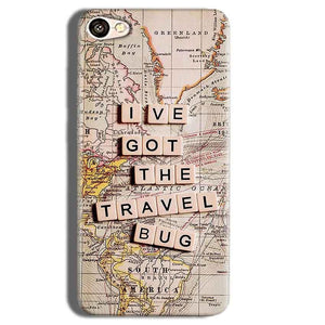 Vivo Y55L Mobile Covers Cases Live Travel Bug - Lowest Price - Paybydaddy.com