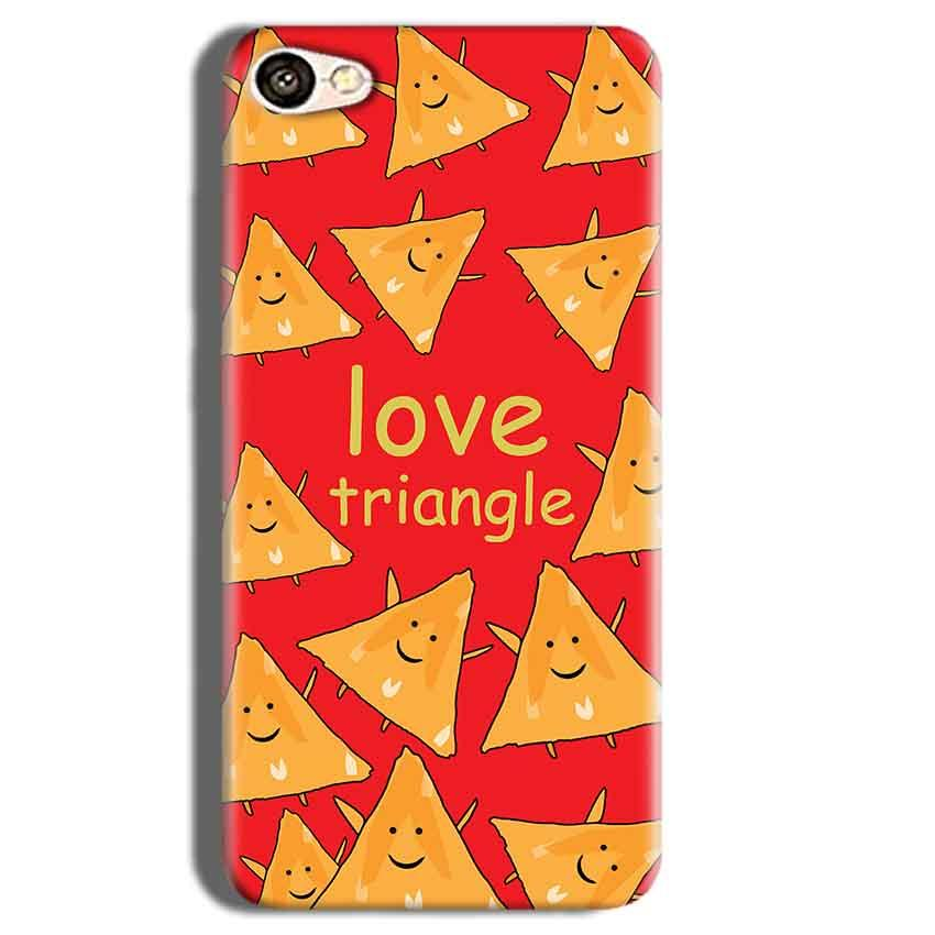 Vivo Y55L Mobile Covers Cases Love Triangle - Lowest Price - Paybydaddy.com