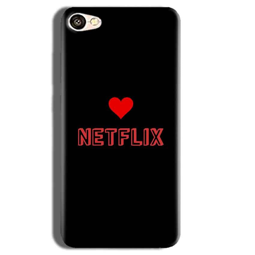 Vivo Y55L Mobile Covers Cases NETFLIX WITH HEART - Lowest Price - Paybydaddy.com