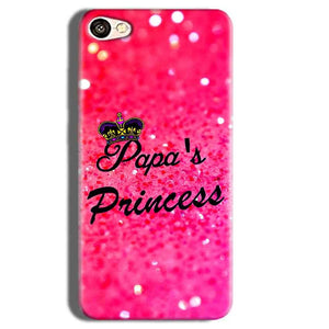 Vivo Y55L Mobile Covers Cases PAPA PRINCESS - Lowest Price - Paybydaddy.com