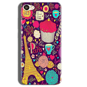 Vivo Y55L Mobile Covers Cases Paris Sweet love - Lowest Price - Paybydaddy.com