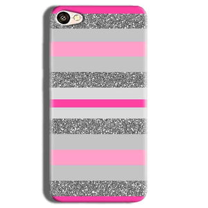 Vivo Y55L Mobile Covers Cases Pink colour pattern - Lowest Price - Paybydaddy.com
