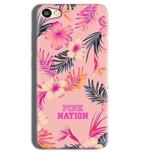 Vivo Y55L Mobile Covers Cases Pink nation - Lowest Price - Paybydaddy.com