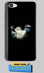 Vivo Y55L Mobile Covers Cases Shiva Aghori Smoking - Lowest Price - Paybydaddy.com