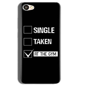 Vivo Y55L Mobile Covers Cases Single Taken At The Gym - Lowest Price - Paybydaddy.com