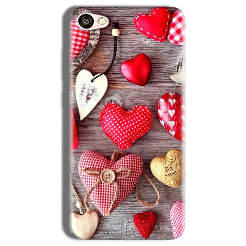 Vivo Y66 Mobile Covers Cases Hearts- Lowest Price - Paybydaddy.com