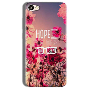 Vivo Y66 Mobile Covers Cases Hope in the Things Unseen- Lowest Price - Paybydaddy.com