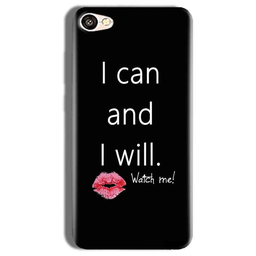 Vivo Y66 Mobile Covers Cases i can and i will Lips - Lowest Price - Paybydaddy.com