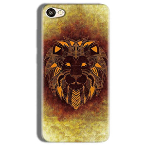 Vivo Y66 Mobile Covers Cases Lion face art - Lowest Price - Paybydaddy.com