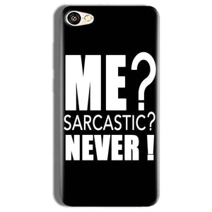 Vivo Y66 Mobile Covers Cases Me sarcastic - Lowest Price - Paybydaddy.com