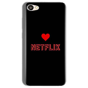 Vivo Y66 Mobile Covers Cases NETFLIX WITH HEART - Lowest Price - Paybydaddy.com