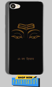 Vivo Y66 Mobile Covers Cases Om Namaha Gold Black - Lowest Price - Paybydaddy.com