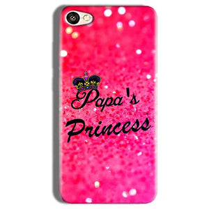 Vivo Y66 Mobile Covers Cases PAPA PRINCESS - Lowest Price - Paybydaddy.com