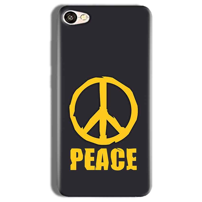 Vivo Y66 Mobile Covers Cases Peace Blue Yellow - Lowest Price - Paybydaddy.com