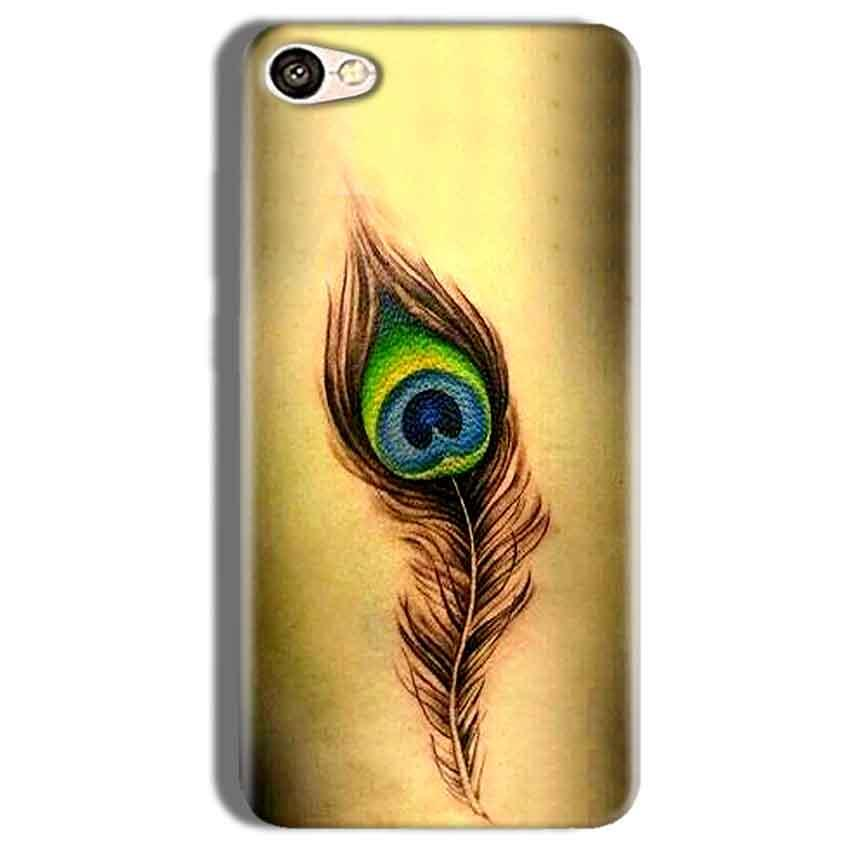Vivo Y66 Mobile Covers Cases Peacock coloured art - Lowest Price - Paybydaddy.com