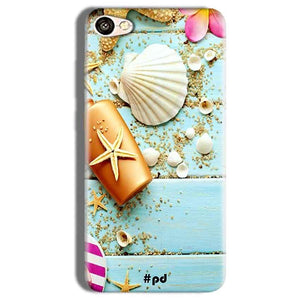 Vivo Y66 Mobile Covers Cases Pearl Star Fish - Lowest Price - Paybydaddy.com