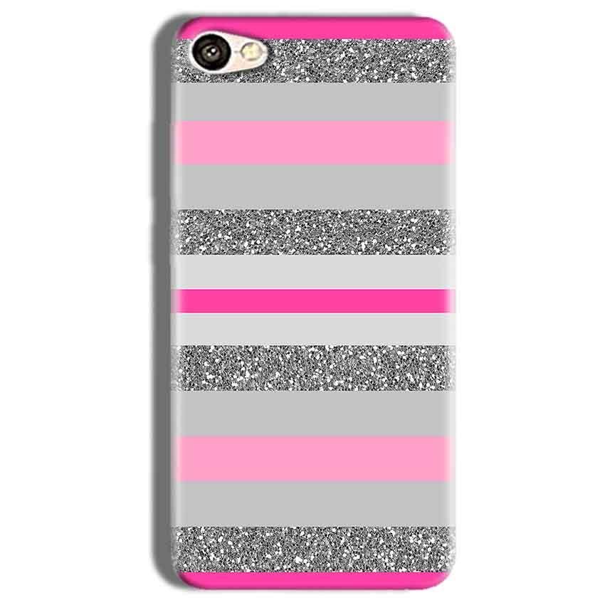 Vivo Y66 Mobile Covers Cases Pink colour pattern - Lowest Price - Paybydaddy.com