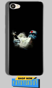Vivo Y66 Mobile Covers Cases Shiva Aghori Smoking - Lowest Price - Paybydaddy.com