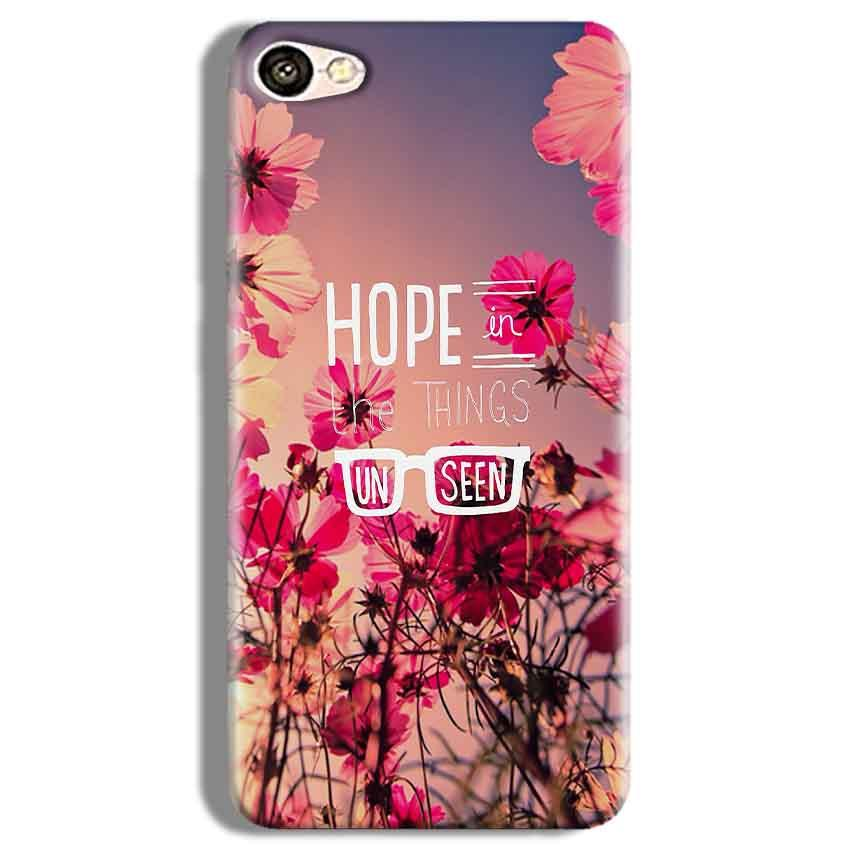 Vivo Y67 Mobile Covers Cases Hope in the Things Unseen- Lowest Price - Paybydaddy.com