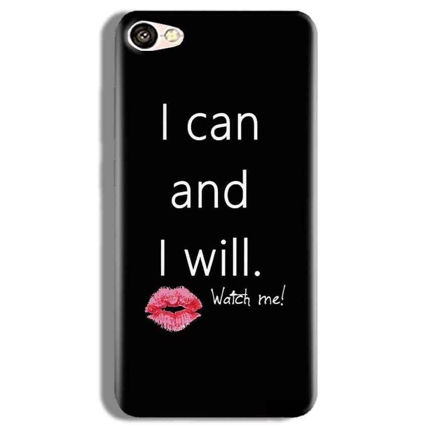 Vivo Y67 Mobile Covers Cases i can and i will Lips - Lowest Price - Paybydaddy.com