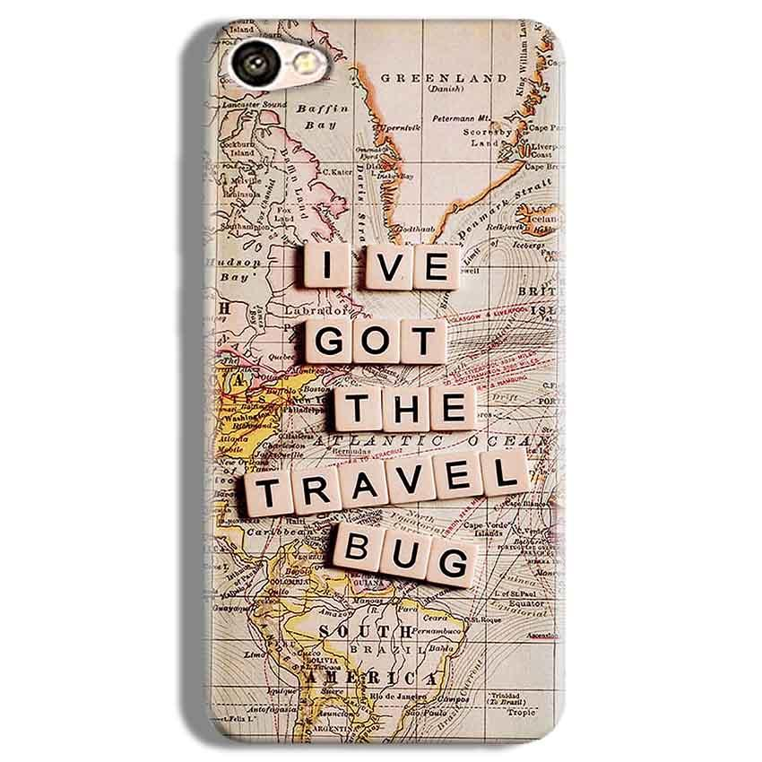 Vivo Y67 Mobile Covers Cases Live Travel Bug - Lowest Price - Paybydaddy.com