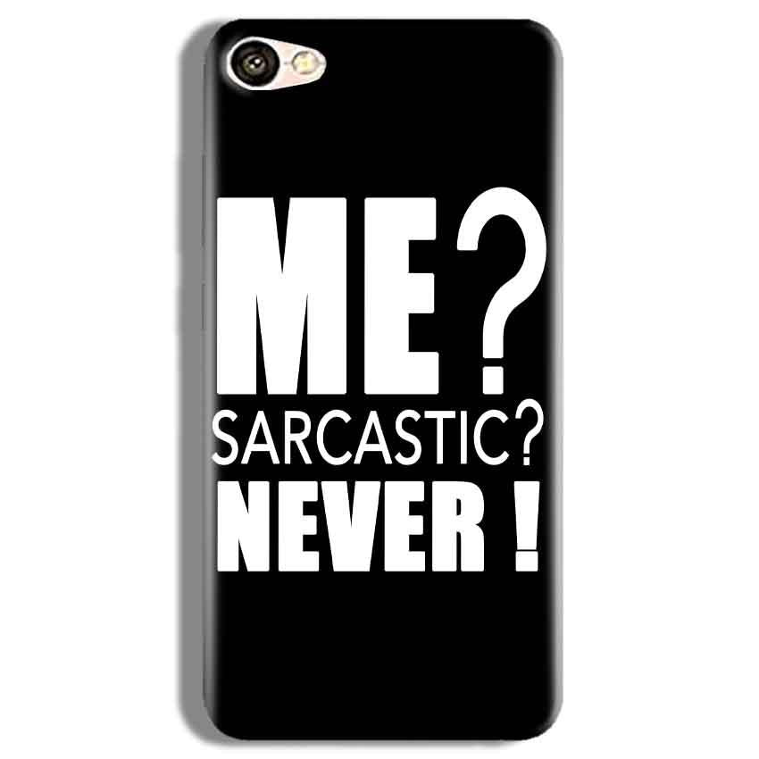 Vivo Y67 Mobile Covers Cases Me sarcastic - Lowest Price - Paybydaddy.com