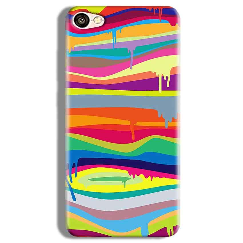 Vivo Y67 Mobile Covers Cases Melted colours - Lowest Price - Paybydaddy.com