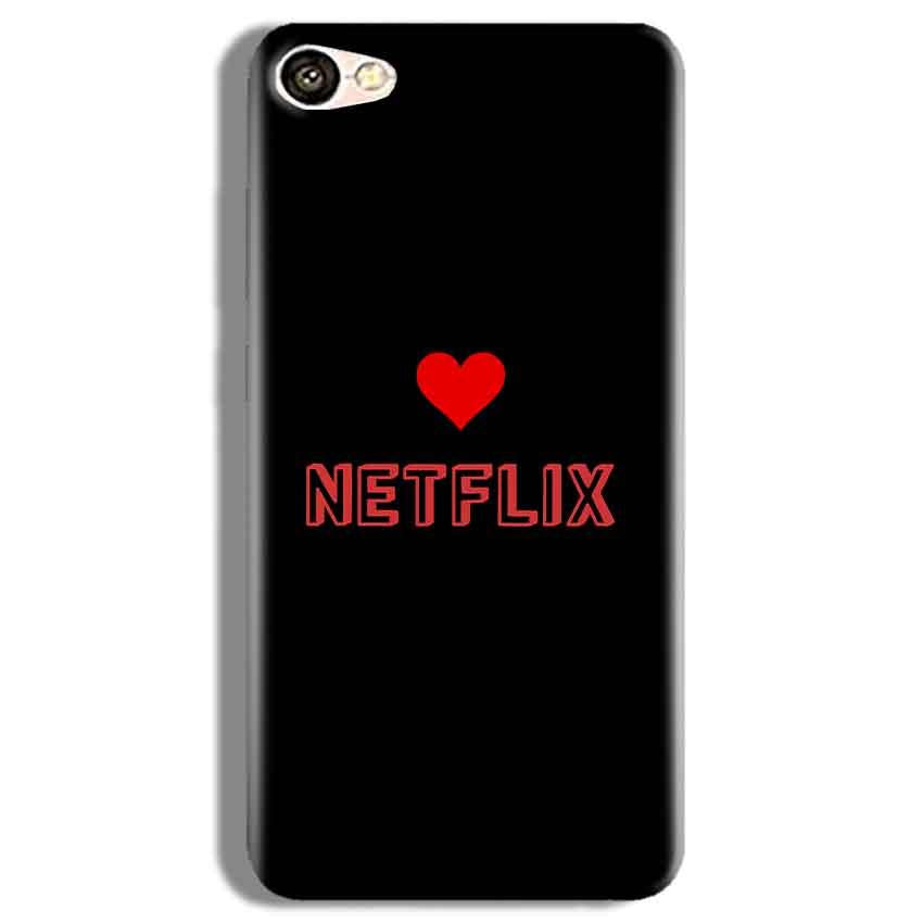 Vivo Y67 Mobile Covers Cases NETFLIX WITH HEART - Lowest Price - Paybydaddy.com