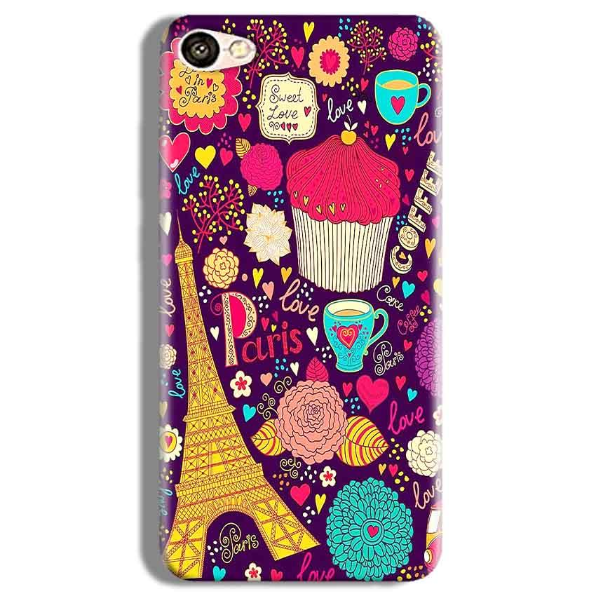 Vivo Y67 Mobile Covers Cases Paris Sweet love - Lowest Price - Paybydaddy.com
