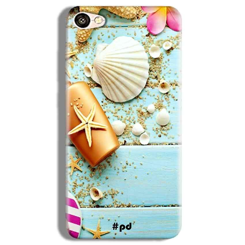 Vivo Y67 Mobile Covers Cases Pearl Star Fish - Lowest Price - Paybydaddy.com
