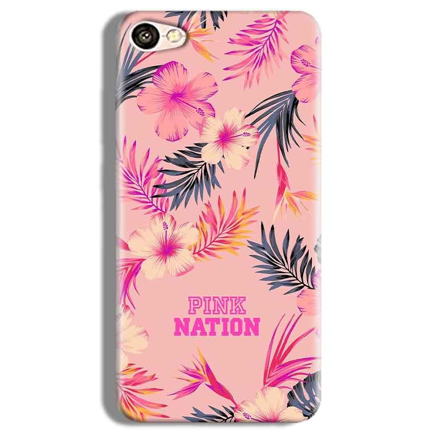 Vivo Y67 Mobile Covers Cases Pink nation - Lowest Price - Paybydaddy.com