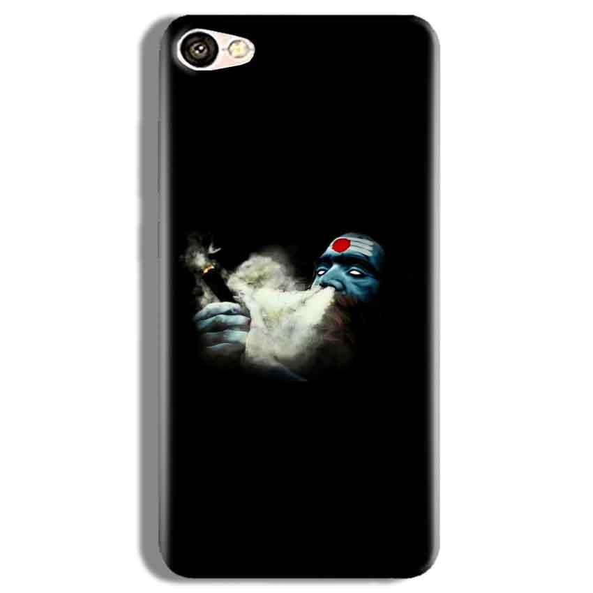 Vivo Y67 Mobile Covers Cases Shiva Aghori Smoking - Lowest Price - Paybydaddy.com