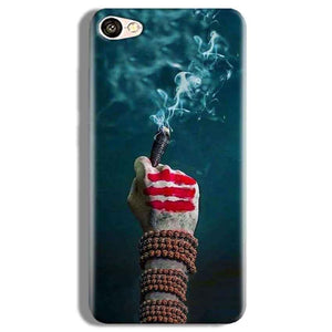 Vivo Y67 Mobile Covers Cases Shiva Hand With Clilam - Lowest Price - Paybydaddy.com