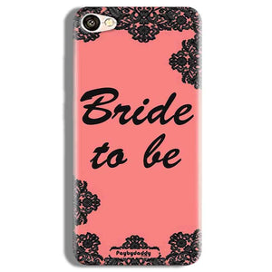 Vivo Y67 Mobile Covers Cases Mobile Covers Cases bride to be with ring Black Pink - Lowest Price - Paybydaddy.com