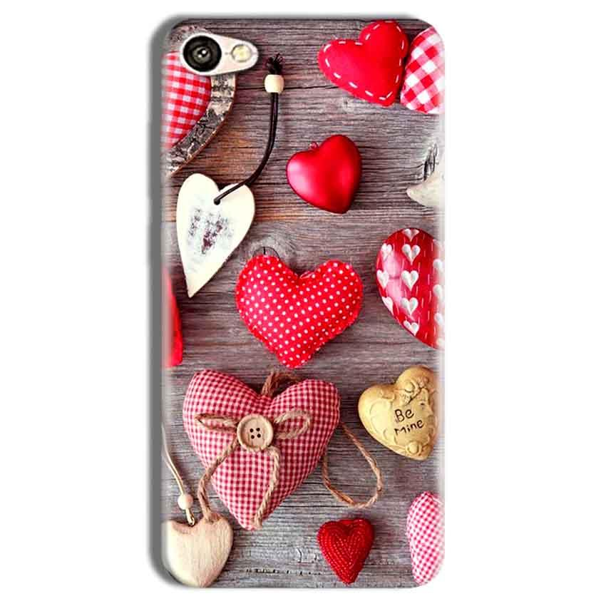 Vivo Y69 Mobile Covers Cases Hearts- Lowest Price - Paybydaddy.com