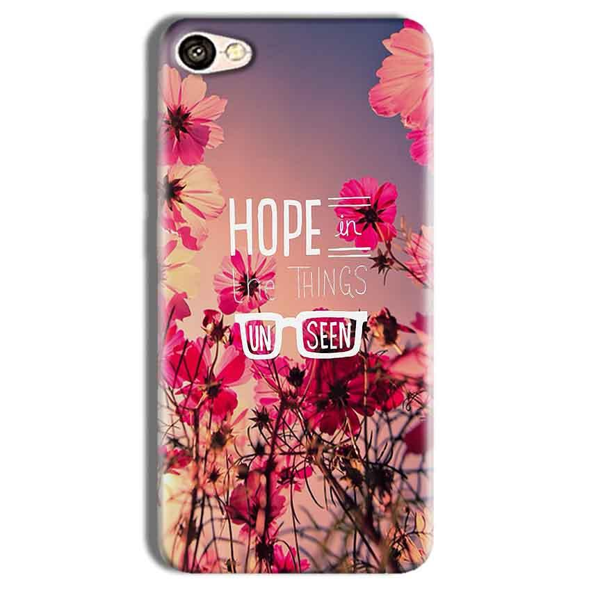 Vivo Y69 Mobile Covers Cases Hope in the Things Unseen- Lowest Price - Paybydaddy.com
