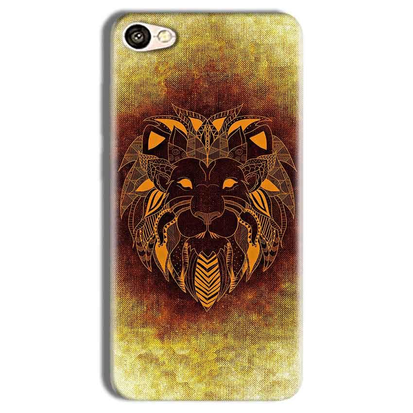 Vivo Y69 Mobile Covers Cases Lion face art - Lowest Price - Paybydaddy.com