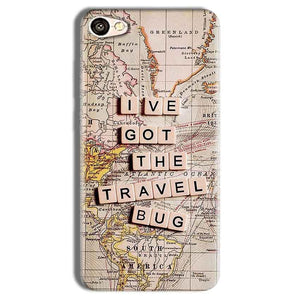 Vivo Y69 Mobile Covers Cases Live Travel Bug - Lowest Price - Paybydaddy.com