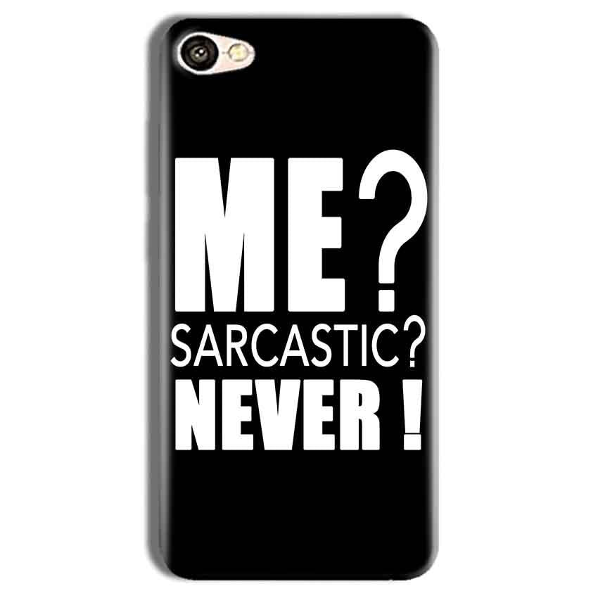 Vivo Y69 Mobile Covers Cases Me sarcastic - Lowest Price - Paybydaddy.com