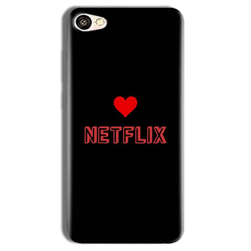 Vivo Y69 Mobile Covers Cases NETFLIX WITH HEART - Lowest Price - Paybydaddy.com