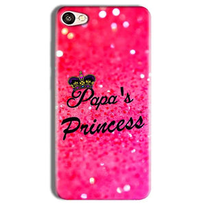 Vivo Y69 Mobile Covers Cases PAPA PRINCESS - Lowest Price - Paybydaddy.com