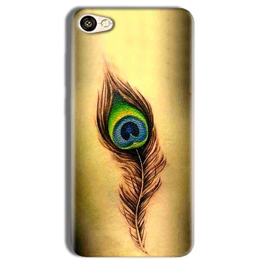 Vivo Y69 Mobile Covers Cases Peacock coloured art - Lowest Price - Paybydaddy.com
