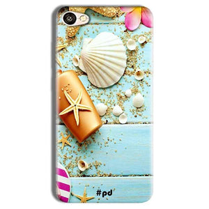 Vivo Y69 Mobile Covers Cases Pearl Star Fish - Lowest Price - Paybydaddy.com