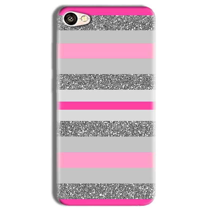 Vivo Y69 Mobile Covers Cases Pink colour pattern - Lowest Price - Paybydaddy.com