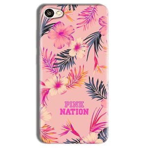 Vivo Y69 Mobile Covers Cases Pink nation - Lowest Price - Paybydaddy.com