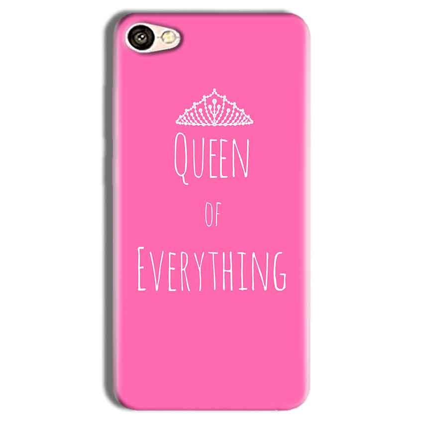 Vivo Y69 Mobile Covers Cases Queen Of Everything Pink White - Lowest Price - Paybydaddy.com