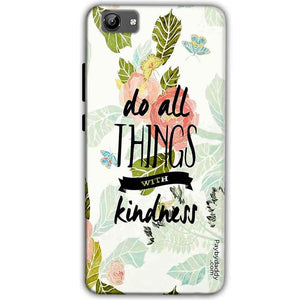 Vivo Y71 Mobile Covers Cases Do all things with kindness - Lowest Price - Paybydaddy.com
