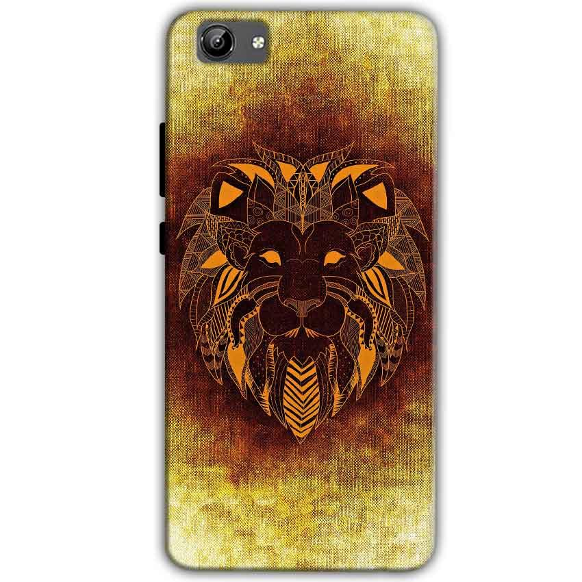 Vivo Y71 Mobile Covers Cases Lion face art - Lowest Price - Paybydaddy.com